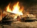 TIMA-Travels4 Kochen auf dem Feuer