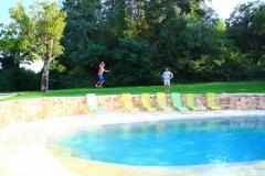 Unser Pool im Klettercamp