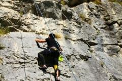Klettern in Kroatien bei Buzet
