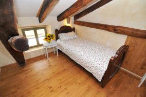 Schlafmöglichkeit im Mehrbettzimmer