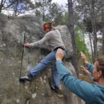 TIMA-Travells outdoor Bouldern