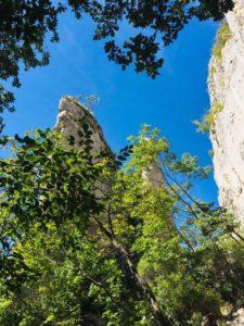 Kletterfelsen Vela Draga